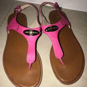 Hot Pink Michael Kors Sandals